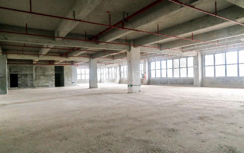 锦绣科学园写字楼出租215平米毛坯办公室45元/m².月