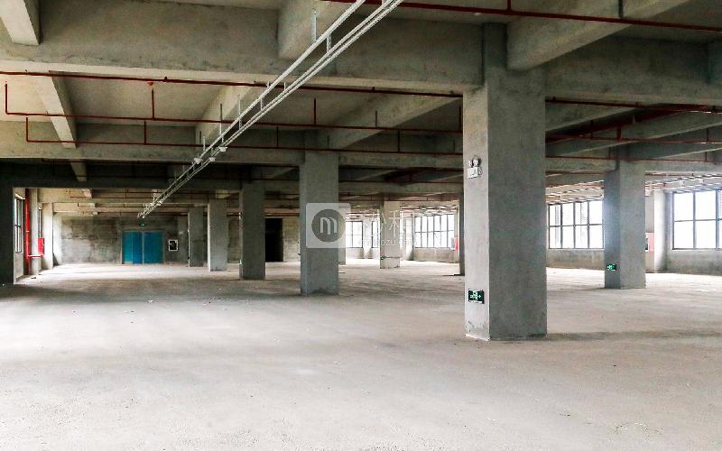 锦绣科学园写字楼出租278平米毛坯办公室45元/m².月