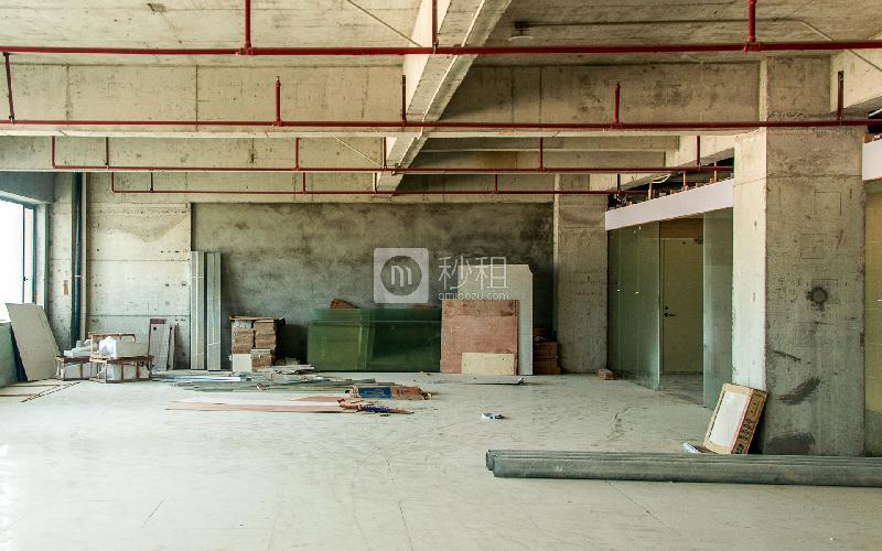 盛美大厦写字楼出租600平米毛坯办公室48元/m².月