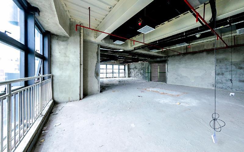 富基PARK国际大厦写字楼出租304平米毛坯办公室130元/m².月