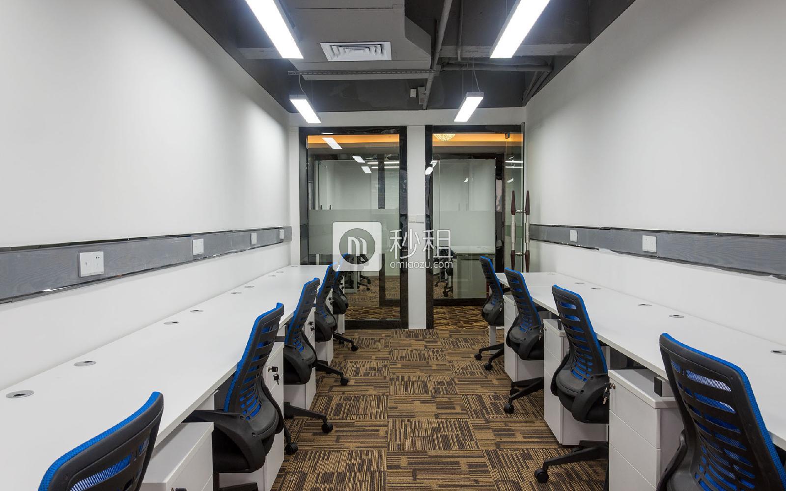 闽泰大厦-无极空间写字楼出租53平米精装办公室10000元/间.月