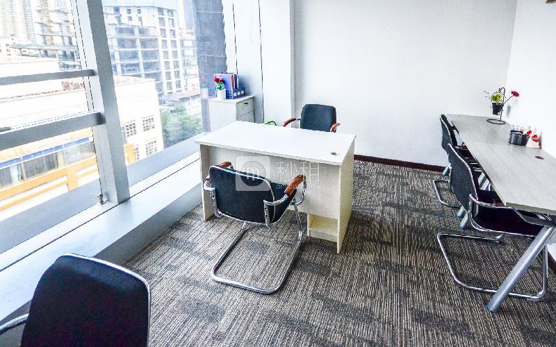 广州银行大厦-创富港写字楼出租12平米简装办公室5800元/间.月