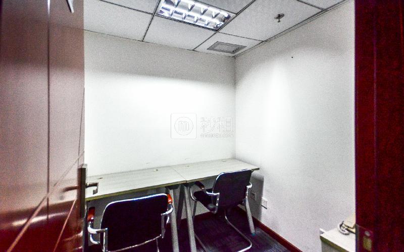 建和中心大厦-创富港写字楼出租5平米精装办公室2220元/间.月