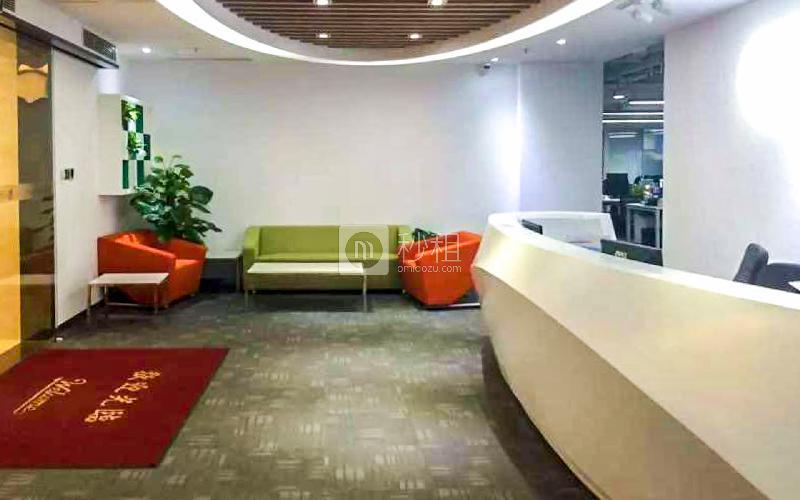豪威科技大厦写字楼出租636平米精装办公室130元/m².月