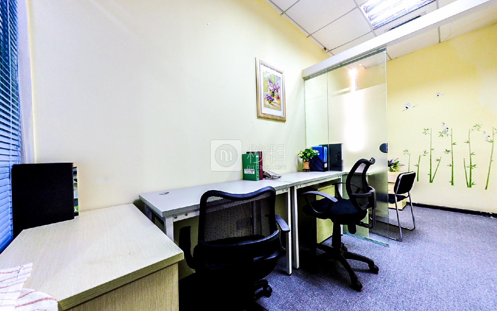 海外联谊大厦-创富港写字楼出租9平米精装办公室2790元/间.月