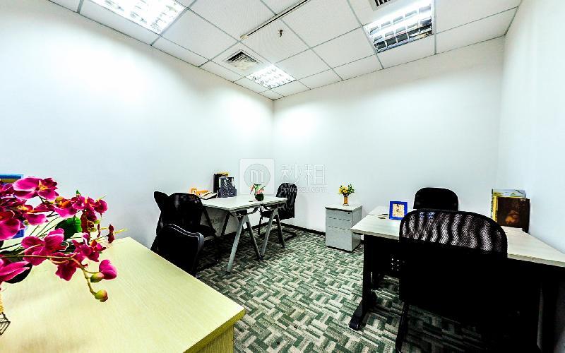 海外联谊大厦-创富港写字楼出租11平米精装办公室3130元/间.月