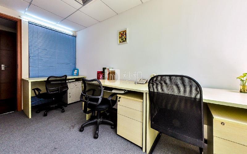 海外联谊大厦-创富港写字楼出租9平米精装办公室2900元/间.月