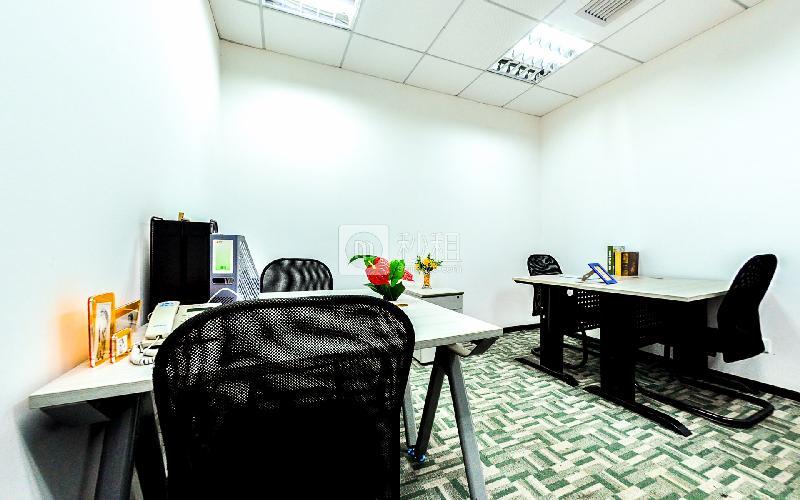 海外联谊大厦-创富港写字楼出租15平米精装办公室4000元/间.月