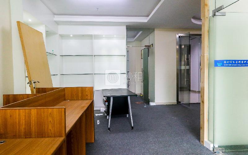 中顺商务大厦写字楼出租205平米精装办公室50元/m².月
