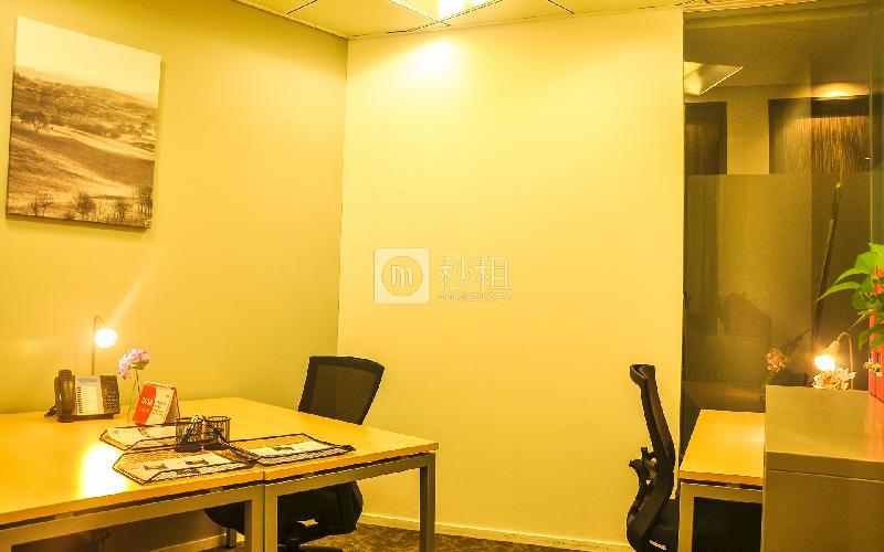 高德置地广场-雷格斯商务中心写字楼出租11平米豪装办公室13090元/间.月