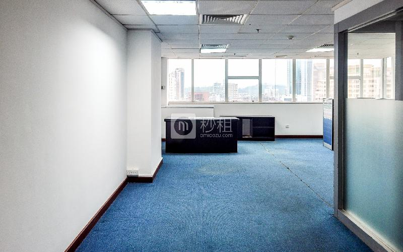达信大厦写字楼出租85平米简装办公室110元/m².月