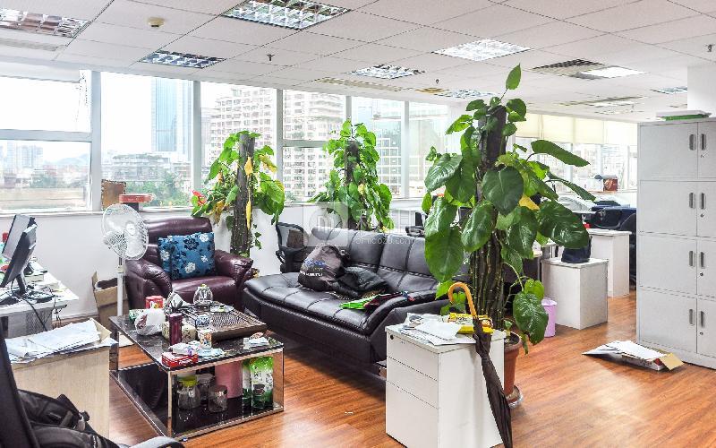 达信大厦写字楼出租200平米简装办公室85元/m².月