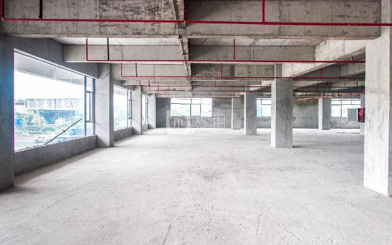 万豪大厦写字楼出租480平米毛坯办公室38元/m².月