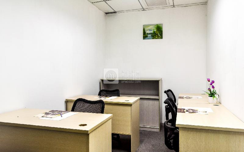 富海大厦-企创商务中心写字楼出租8平米简装办公室3480元/间.月