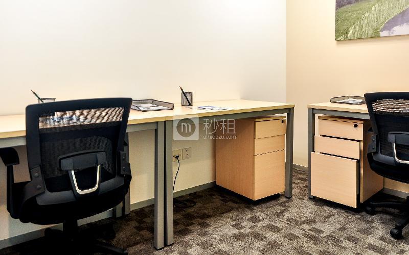 财富广场-雷格斯商务中心写字楼出租6平米豪装办公室6026元/间.月