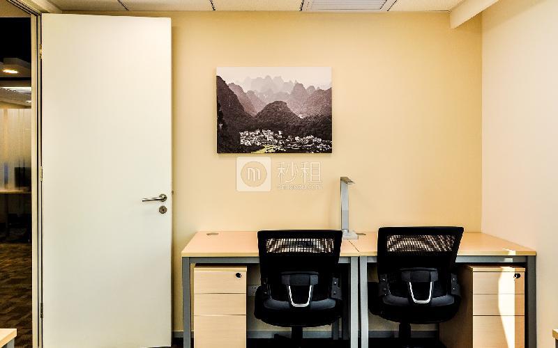 财富广场-雷格斯商务中心写字楼出租4平米豪装办公室4680元/间.月