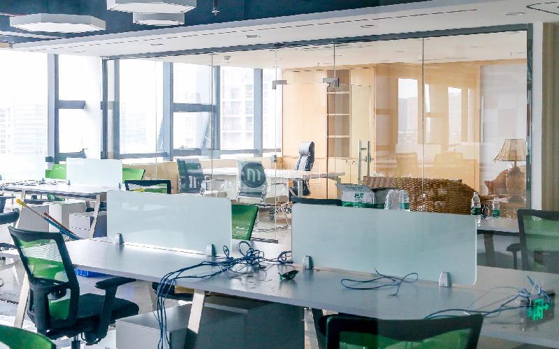 汇潮科技大厦写字楼出租335平米精装办公室70元/m².月