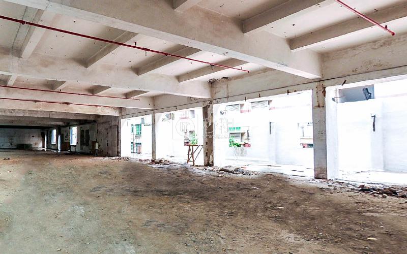 博园大厦写字楼出租165平米毛坯办公室70元/m².月
