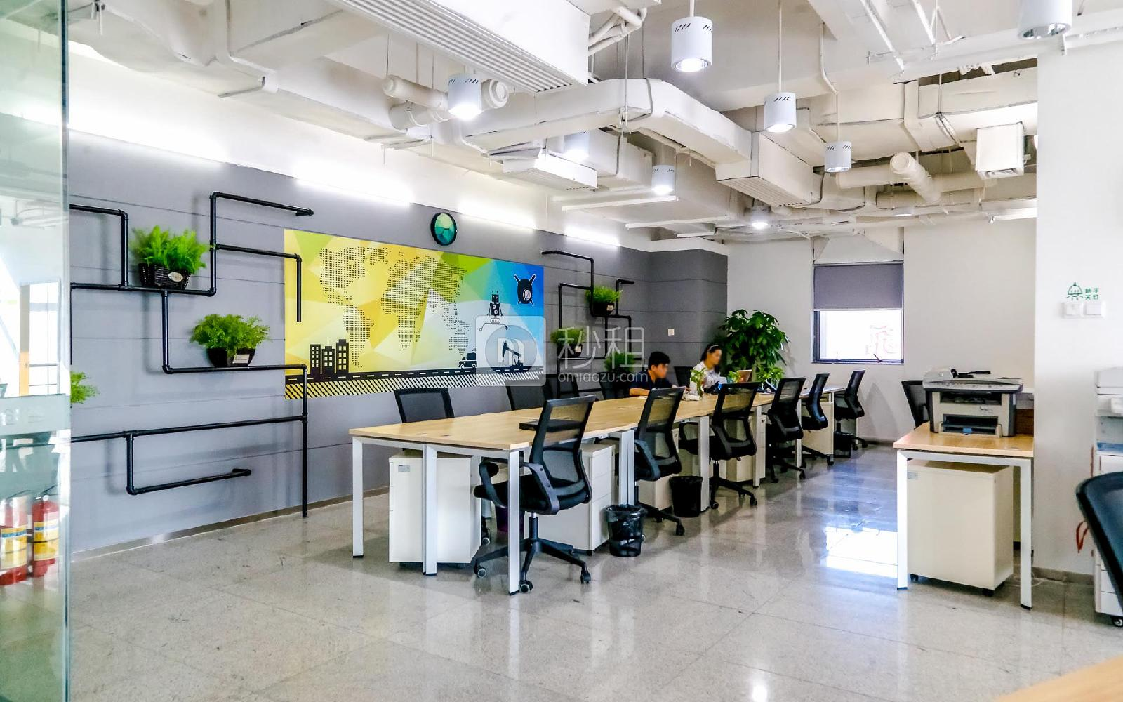德赛科技大厦-纳微创谷写字楼出租5平米精装办公室1200元/工位.月