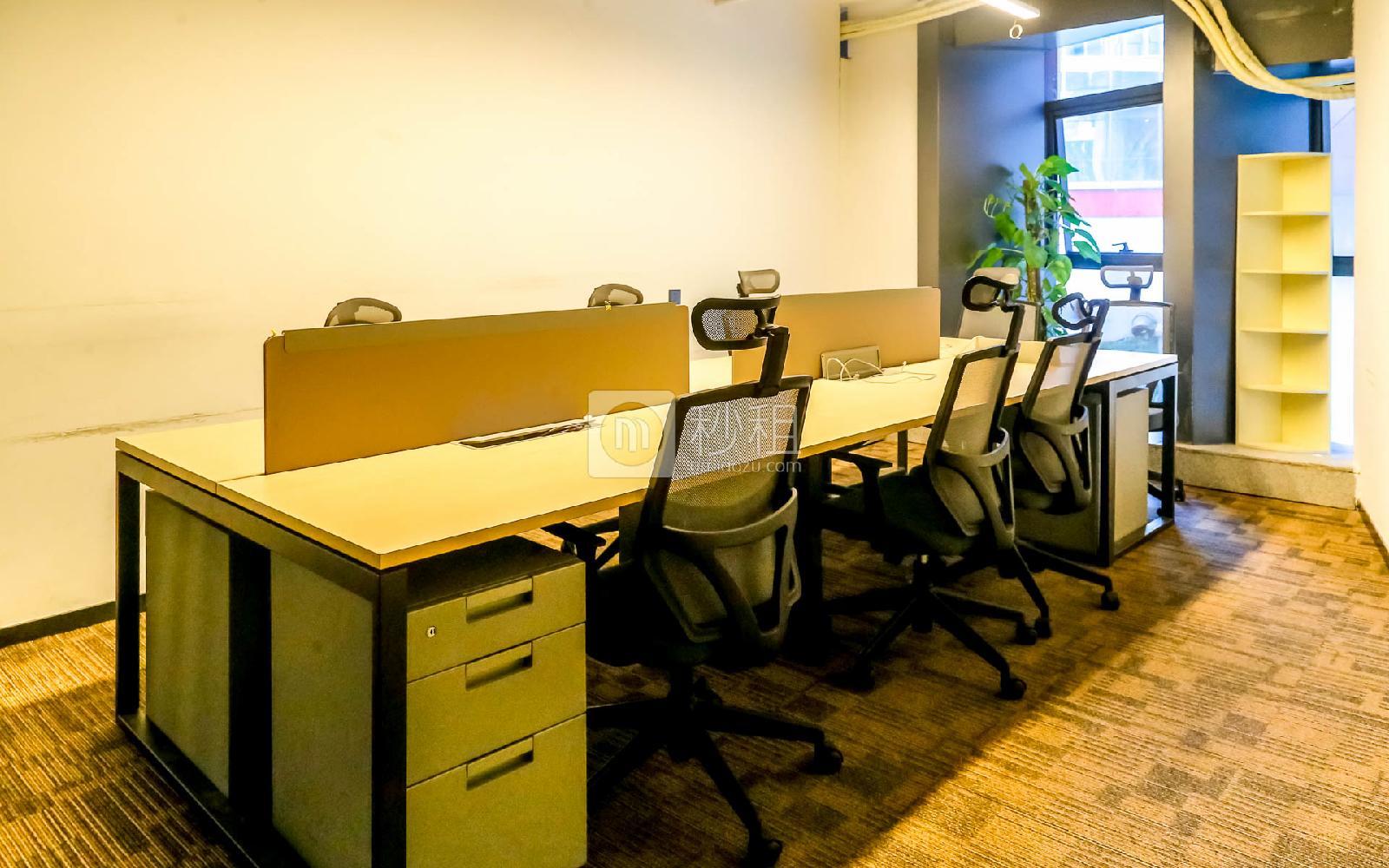 软件产业基地-微漾国际创客空间写字楼出租50平米精装办公室16000元/间.月