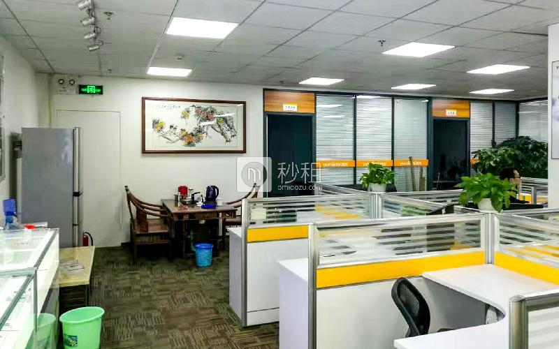 赋安科技大厦写字楼出租476平米精装办公室125元/m².月
