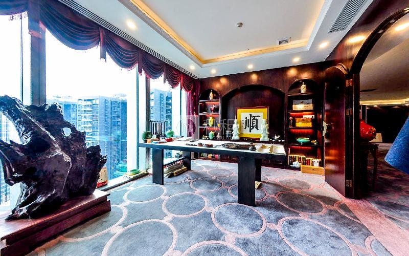 京基100大厦写字楼出租320平米豪装办公室230元/m².月