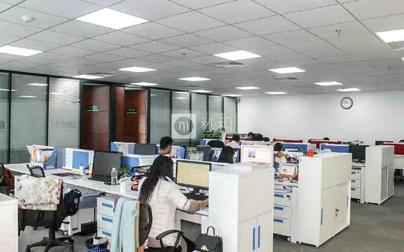 康佳研发大厦写字楼出租498平米精装办公室125元/m².月
