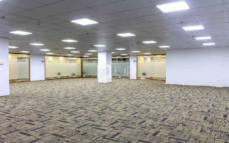 绿创云谷大厦写字楼出租417平米精装办公室98元/m².月