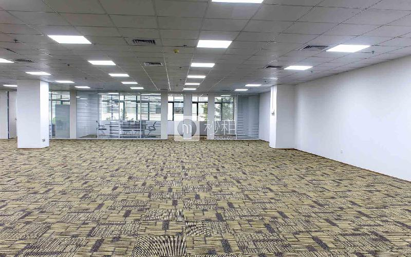 绿创云谷大厦写字楼出租417平米精装办公室85元/m².月