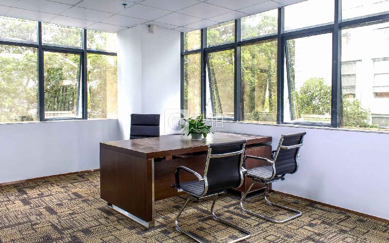 绿创云谷大厦写字楼出租343平米精装办公室85元/m².月