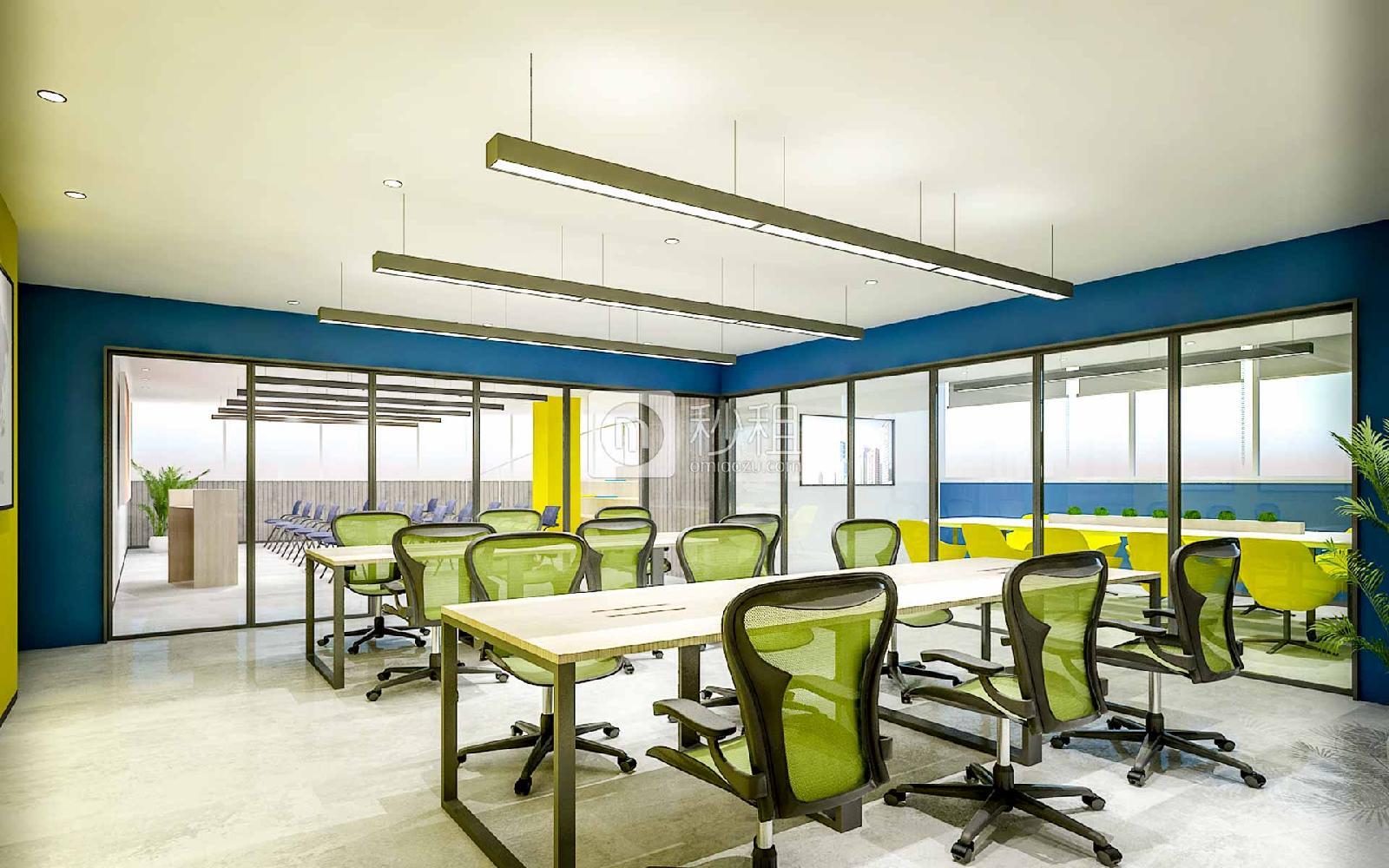 红盾大厦-创富港写字楼出租13平米精装办公室2800元/间.月
