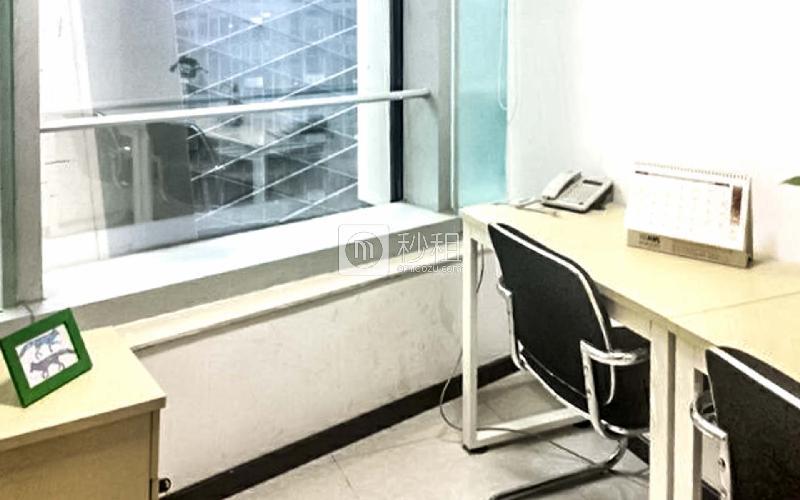 保利威座大厦-创富港写字楼出租4平米精装办公室1500元/间.月