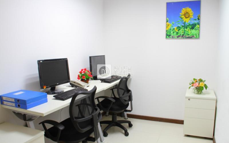 达信大厦-创富港写字楼出租4平米精装办公室1860元/间.月