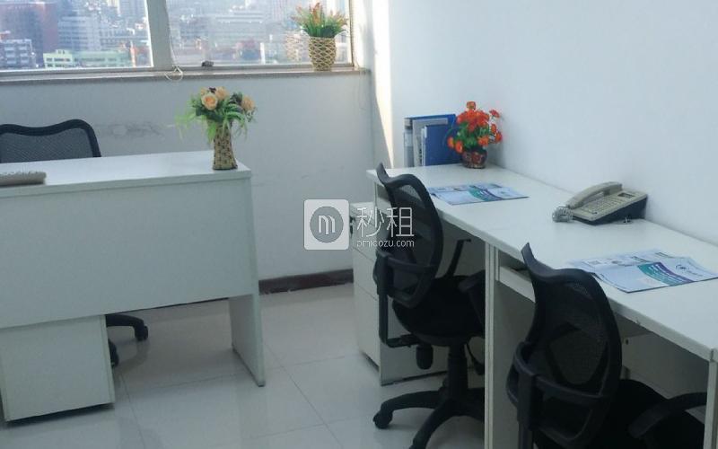 达信大厦-创富港写字楼出租6平米精装办公室2260元/间.月