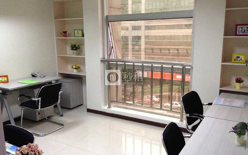大新银行大楼-创富港写字楼出租12平米精装办公室5370元/间.月