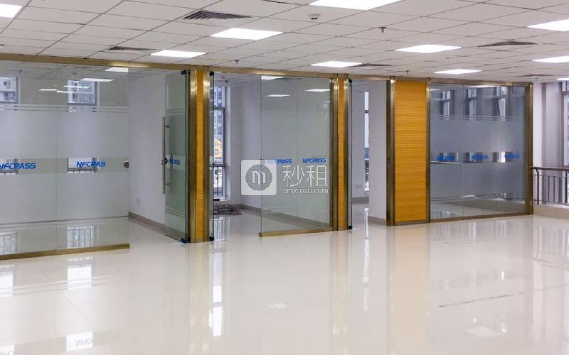 软件产业基地写字楼出租551平米精装办公室80元/m².月