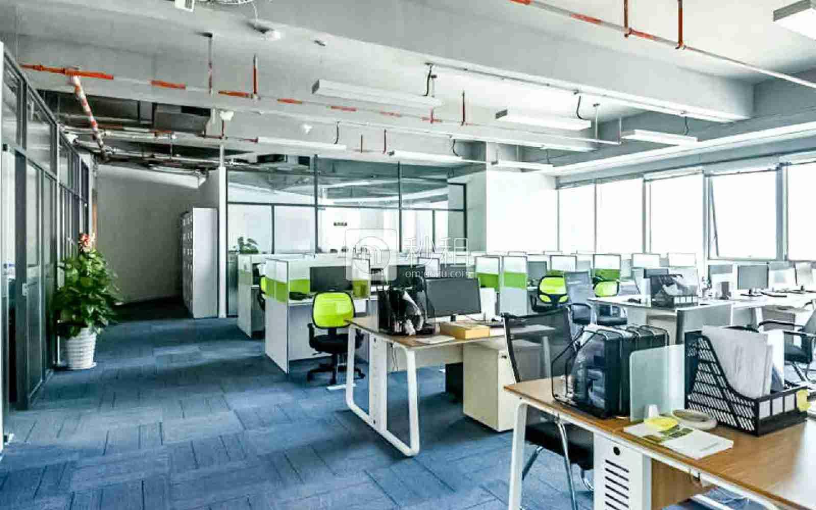 华润城大冲商务中心写字楼出租823平米精装办公室170元/m².月