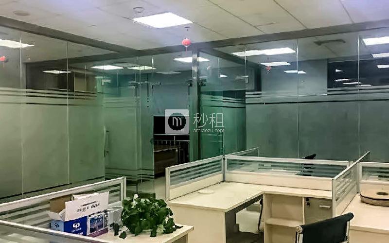 华强广场写字楼出租128平米精装办公室125元/m².月