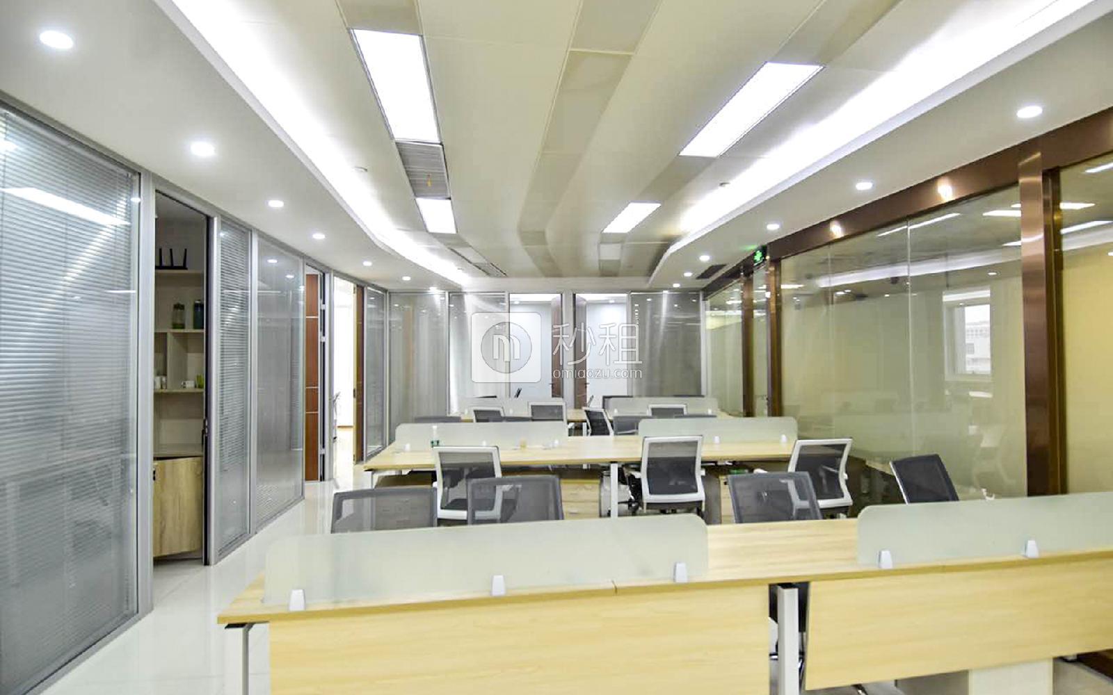 华润城大冲商务中心写字楼出租358平米精装办公室165元/m².月
