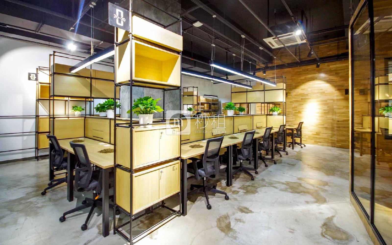 金谷创业园-原点联合办公空间写字楼出租5平米精装办公室1000元/间.月