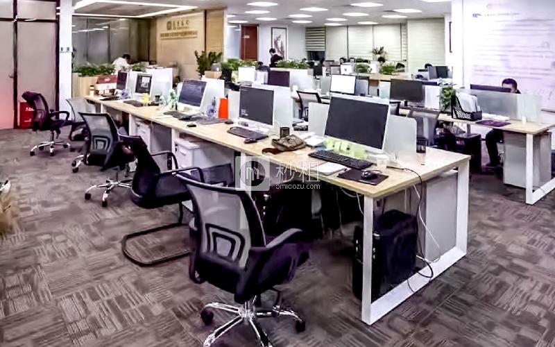 航盛科技大厦 写字楼出租466平米精装办公室125元/m².月