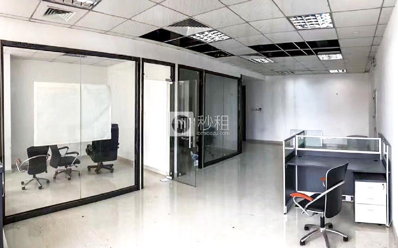 南园枫叶大厦写字楼出租123平米精装办公室130元/m².月
