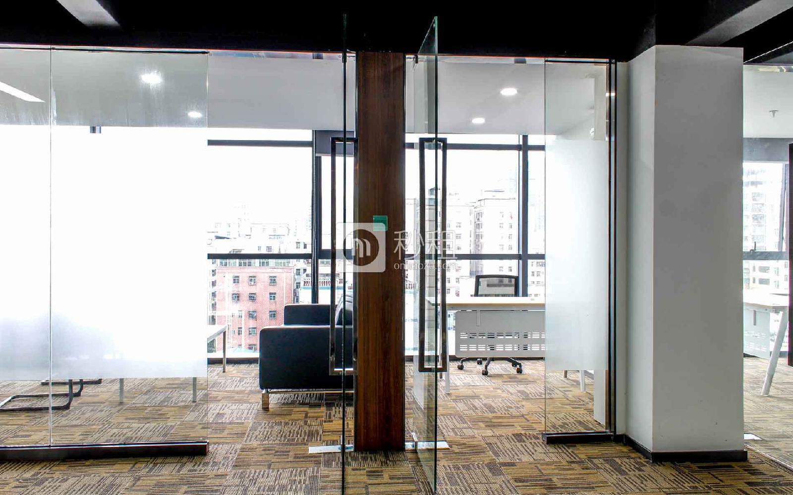 城市山海中心写字楼出租196平米豪装办公室75元/m².月