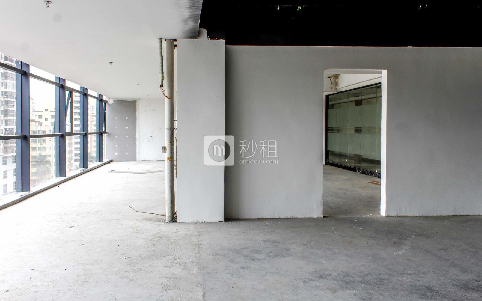 城市山海中心写字楼出租126平米简装办公室65元/m².月