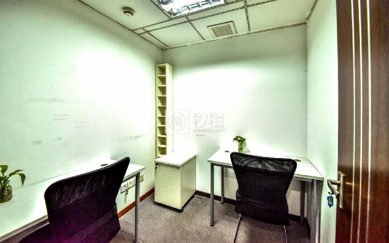 中关村科技大厦-创富港写字楼出租10平米精装办公室1800元/间.月