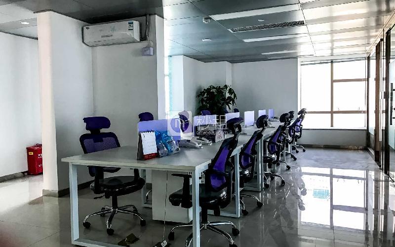 博园商务大厦写字楼出租655平米精装办公室125元/m².月