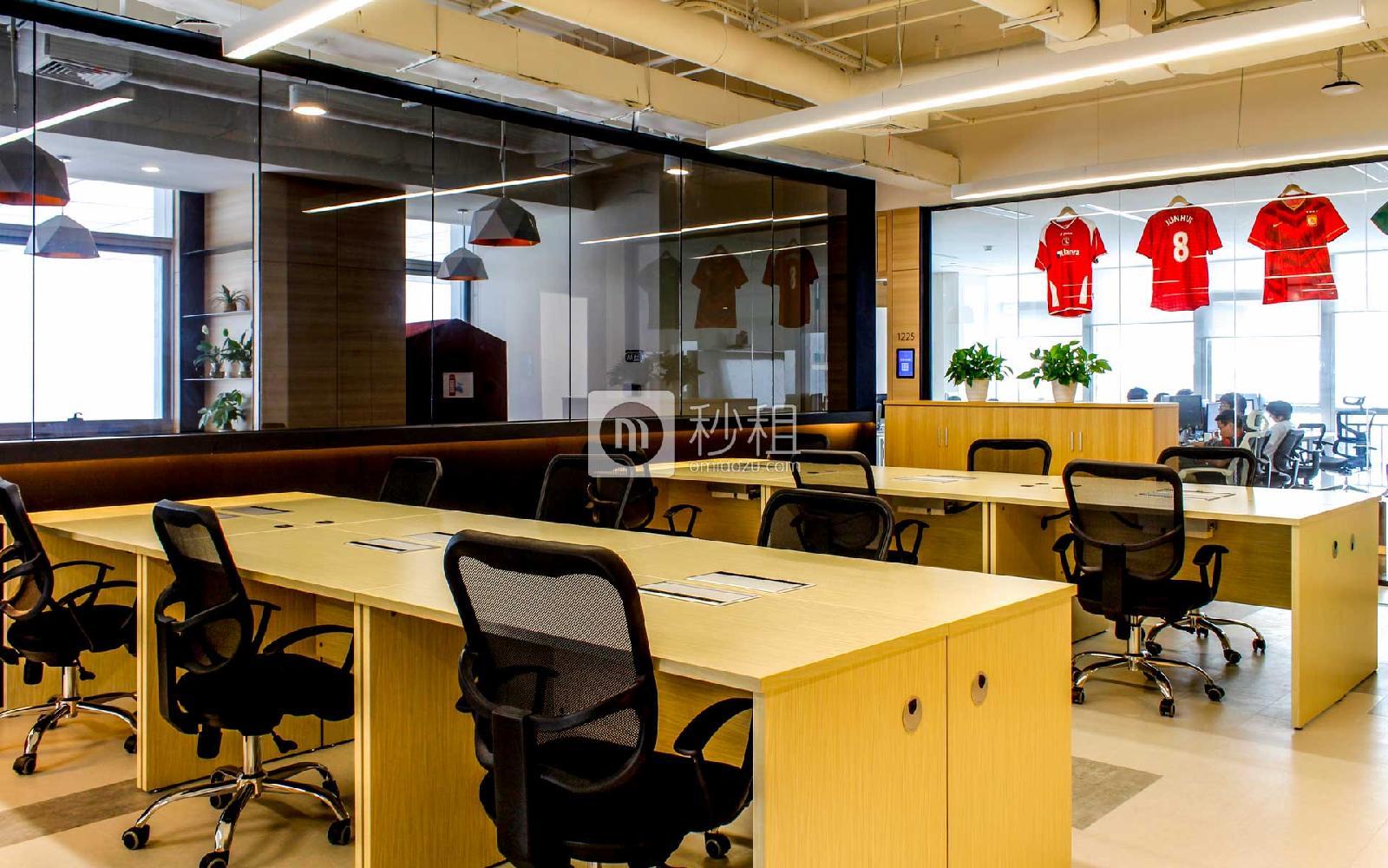 阿里中心-P2神鲸空间写字楼出租5平米精装办公室2500元/工位.月