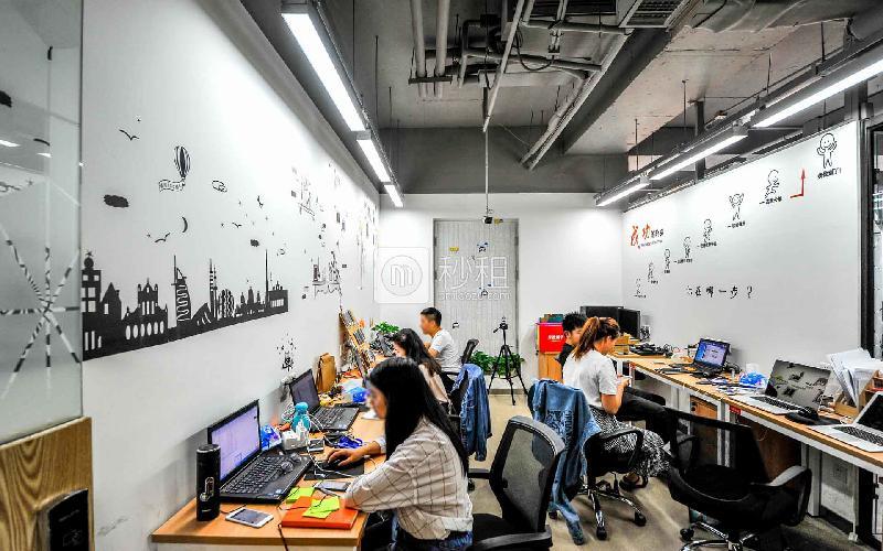 金域国际中心-优客工场写字楼出租20平米精装办公室8960元/间.月