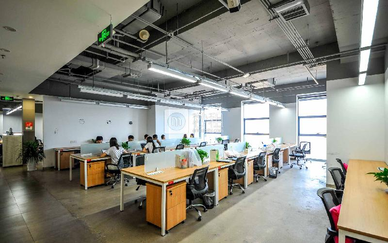 金域国际中心-优客工场写字楼出租7平米精装办公室1120元/工位.月
