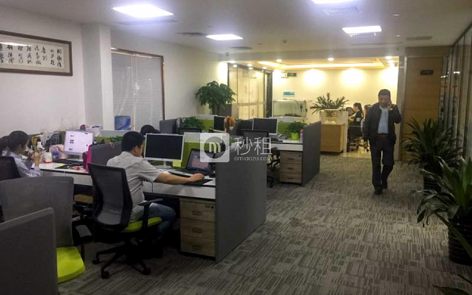 华嵘大厦写字楼出租693平米精装办公室180元/m².月